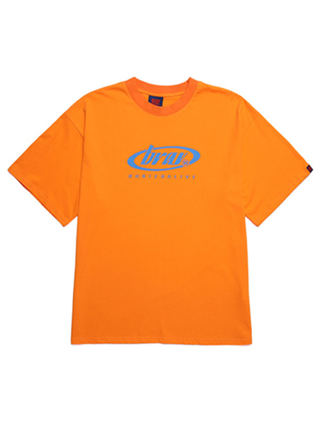 [BURIEDALIVE]BA CIRCLE LOGO TEE ORANGE
