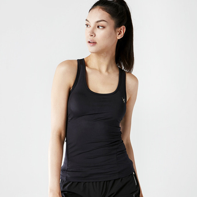 AKIIICLASSICSLEEVELESS TYPE-1 BLACK