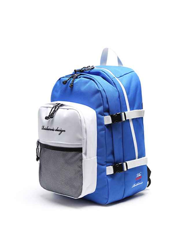 [ROIDESROIS] OH OOPS BACKPACK BLUEWHITE