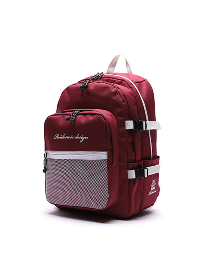 [ROIDESROIS] OH OOPS BACKPACK BURGUNDY
