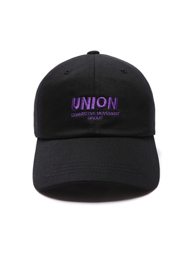 [UNIONOBJET] UNION SIGNATURE BALLCAP BLACK