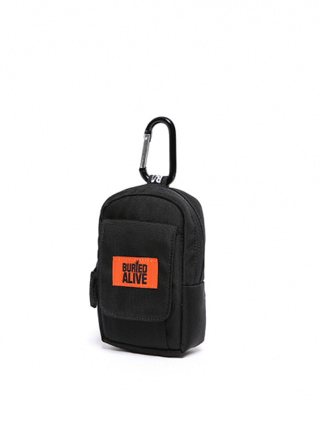 [BURIEDALIVE]BA CHOKE BAG BLACK ORANGE