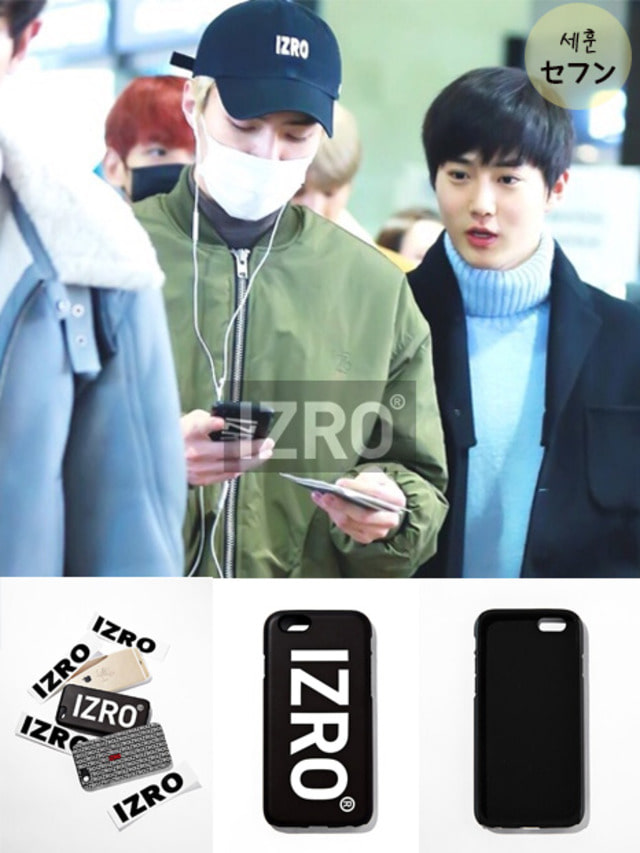 [EXO ITEM] IZRO BIG PHONECASE - BLACK