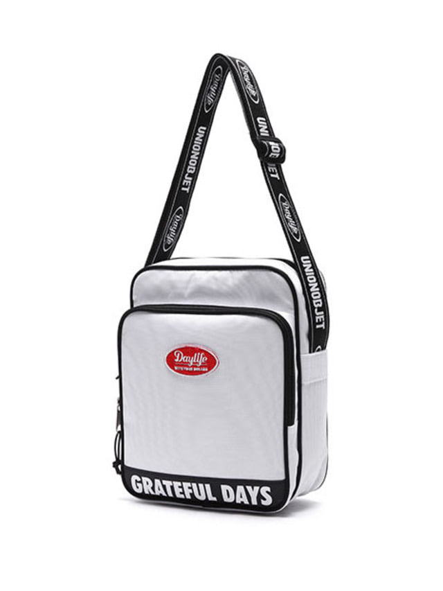 [UNIONOBJET]DAYLIFE X UNIONOBJET CROSS BAG WHITE