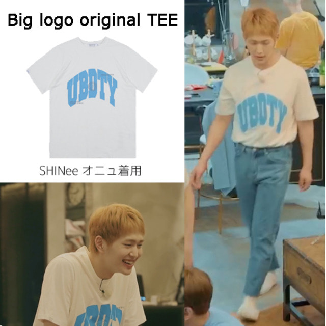 [URBANDTYPE] BIG LOGO ORIGINAL TEE_SHINEE