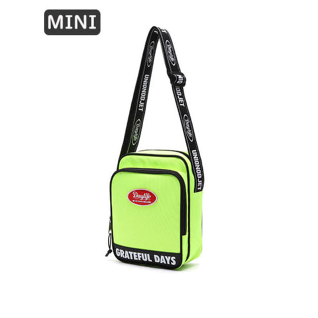 [UNIONOBJET]DAYLIFE X UNIONOBJET MINI CROSS BAG LIME