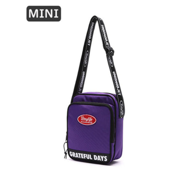 [UNIONOBJET]DAYLIFE X UNIONOBJET MINI CROSS BAG PURPLE