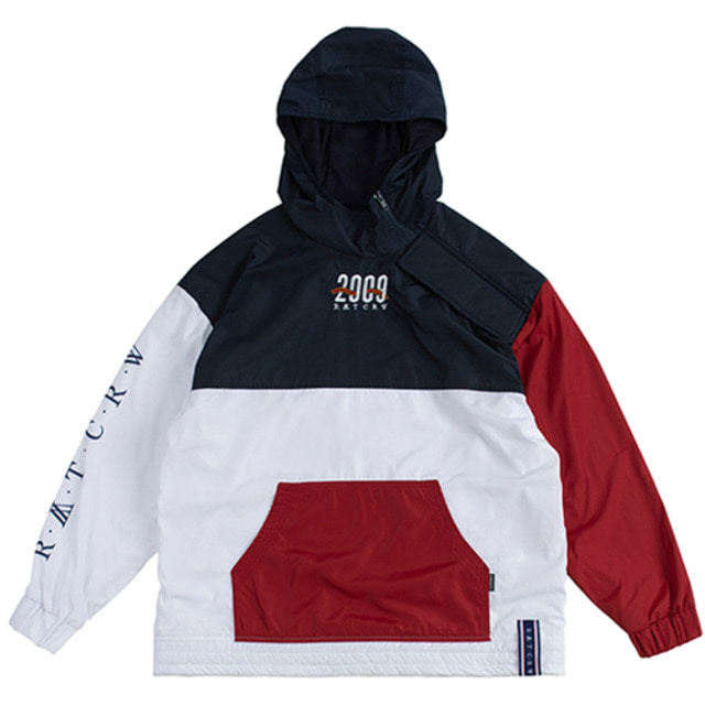 [ROMANTICCROWN] 2009 SIDE ZIP UP ANORAK WHITE