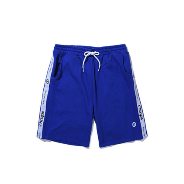 [BORN CHAMPS]TAPE SHORTS PANTS CERBMTP01BL