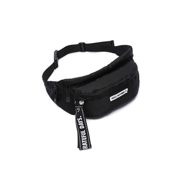 [UNIONOBJET]UNION X HOLLY WAIST BAG BLACK