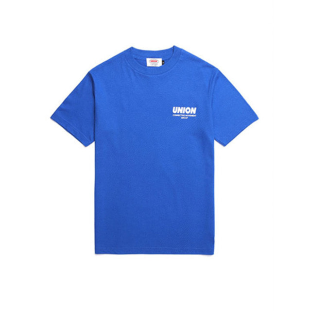 [UNION OBJET] SIGNATURE T-SHIRT BLUE