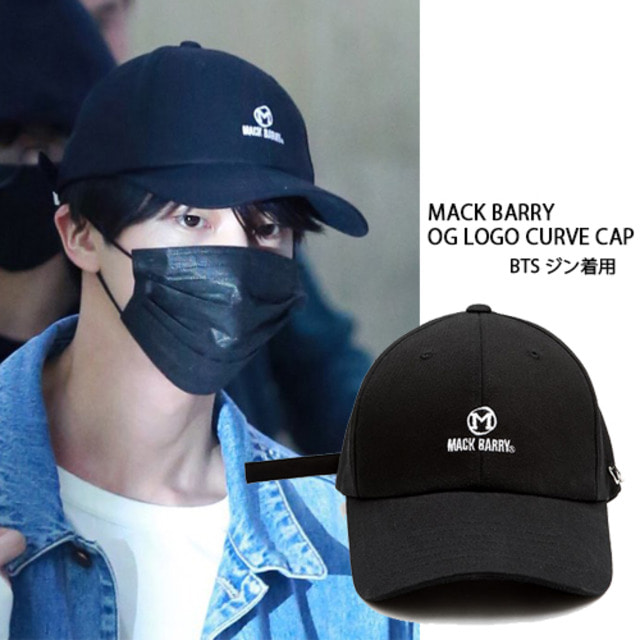 [MACK BARRY] MACK BARRY OG LOGO CURVE CAP_BTS