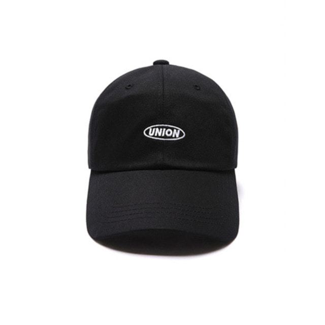[UNIONOBJET] UNION BASIC LOGO BALLCAP BLACK