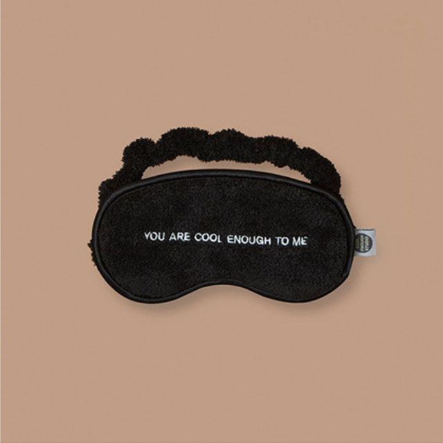 [COOLENOUGH]THE SLEEPING MASK_BLACK_BTS