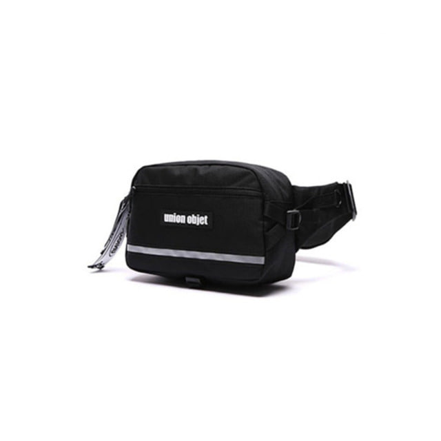 [UNIONOBJET]UNION TECH WAIST BAG BLACK_VICTON着用