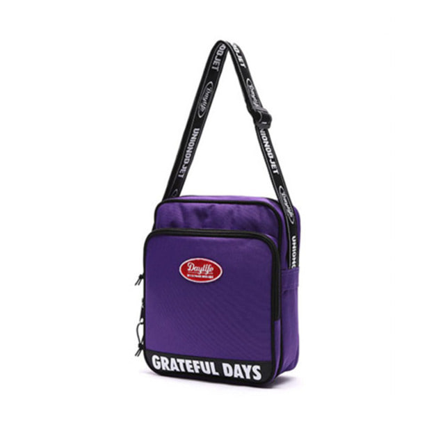 [UNIONOBJET]DAYLIFE X UNIONOBJET CROSS BAG PURPLE