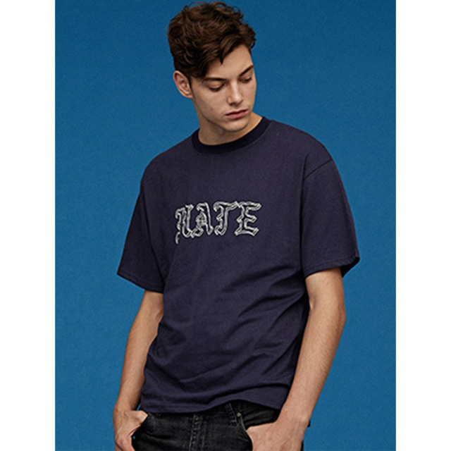 [UNION OBJET]SILERS X UNIONOBJET HATE T-SHIRT NAVY