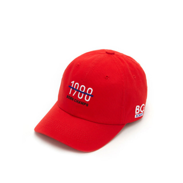 BC 1988 BALL CAP RED CEQFMCA04RE