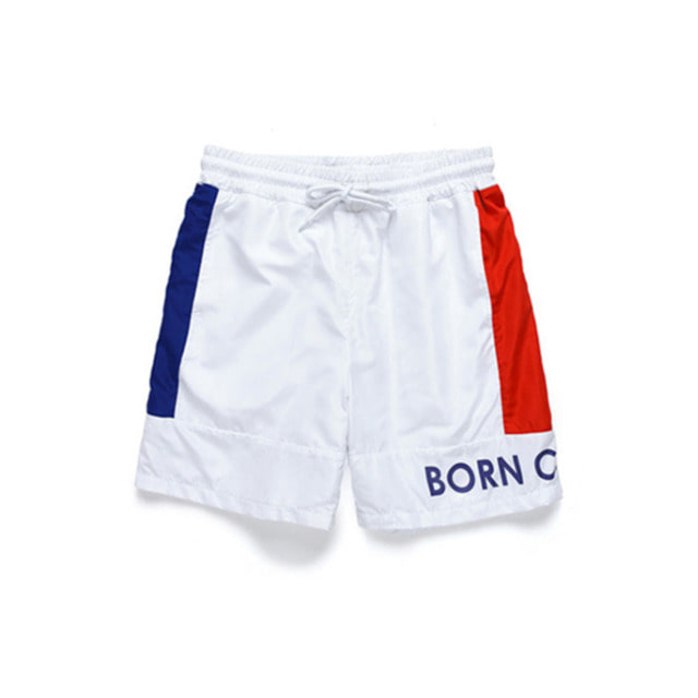 [BORN CHAMPS]B-SIDE SHORT PANTS CERBMTP02WH