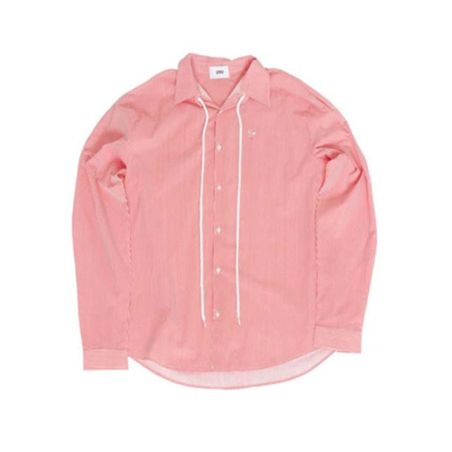 [IZRO] IZRO STRING STRIPE SHIRT - RED