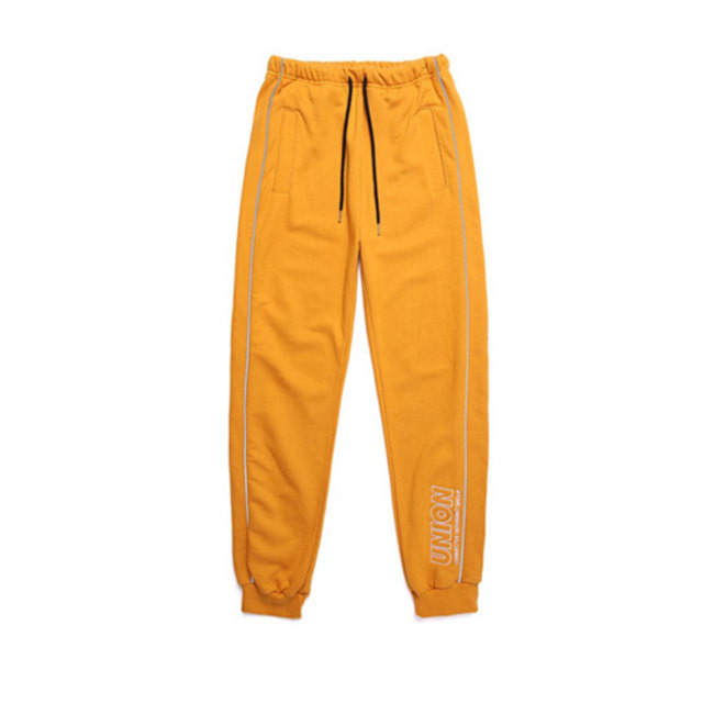 [UNIONOBJET] UNION SIGNATURE TRAINING PANTS MUSTARD