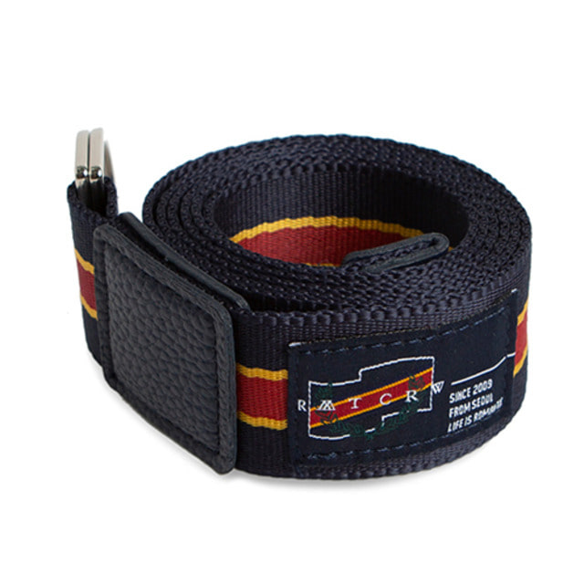 [ROMANTICCROWN] 2009 WEBBING BELT NAVY