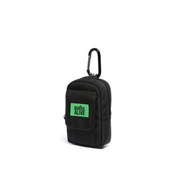 [BURIEDALIVE]BA CHOKE BAG BLACK GREEN