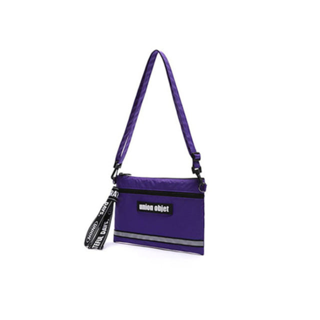 [UNIONOBJET]UNION TECH CROSS BAG PURPLE