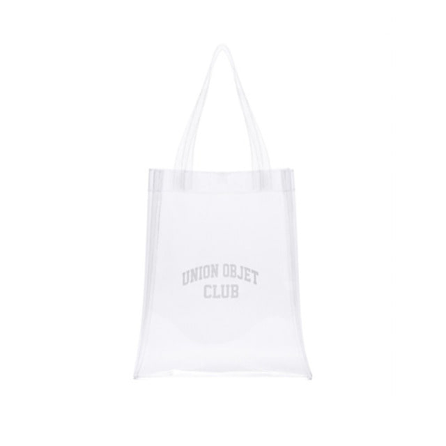 [UNIONOBJET] CLUB PVC ECOBAG CLEAR
