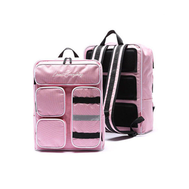 [UNIONOBJET]MINIMAL 4POCKET BACKPACK PINK