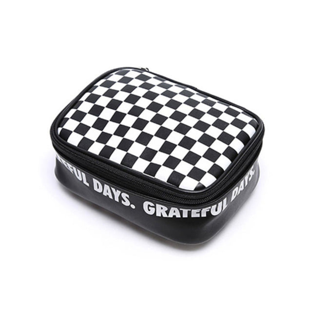 CHECKERBOARD POUCH