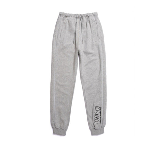 [UNIONOBJET] UNION SIGNATURE TRAINING PANTS GRAY