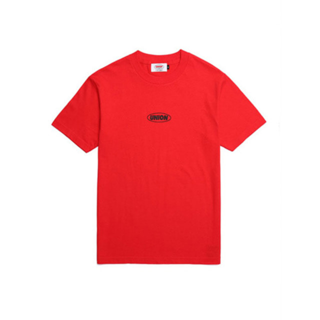 [UNION OBJET] BASIC LOGO T-SHIRT RED