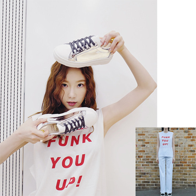 [INSTANTFUNK] Funk You Up! Sleeveless T-shirt 2COLOR_少女時代