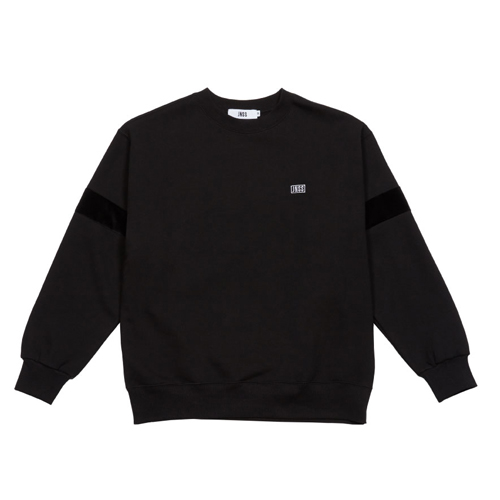 [JEUNESSE] VELOUR SWEATSHIRT BLACK