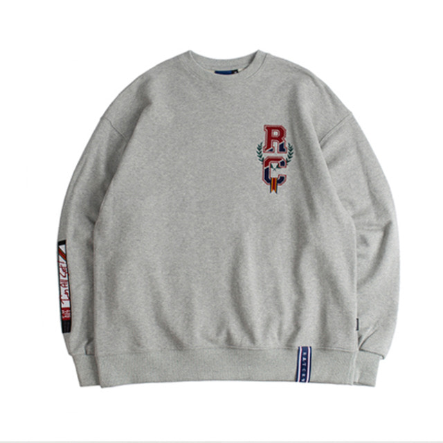 [ROMANTICCROWN] RC VIDEO SWEATSHIRT GRAY