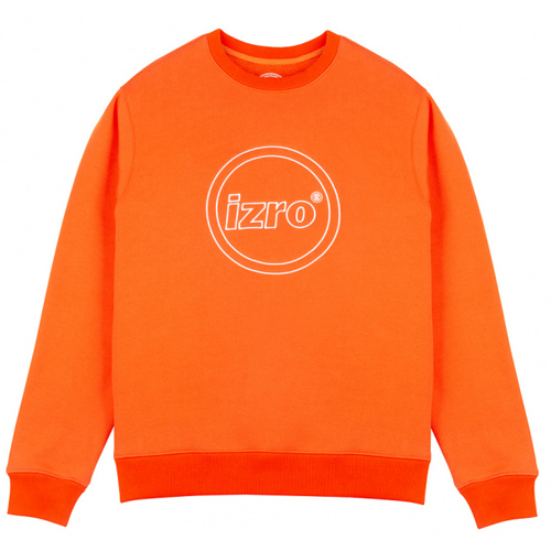 [IZRO] CIRCLE SWEAT SHIRT ORANGE