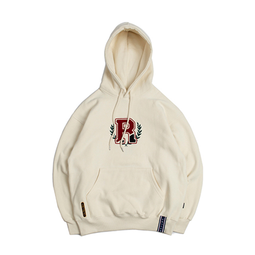 [ROMANTICCROWN] CLASSIC RC HOODIE OATMEAL