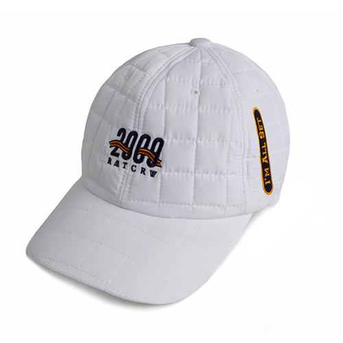 [ROMATIC CROWN] 2009 QUILTING BALL CAP WHITE