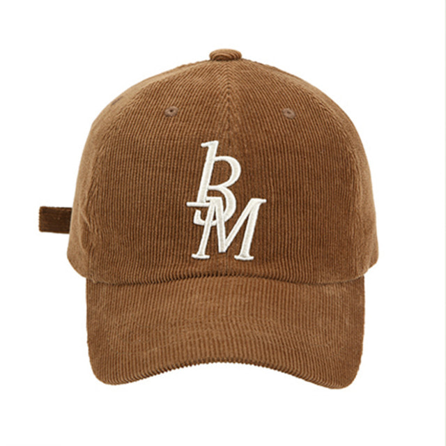 [13MONTH] CORDUROY LOGO BALL CAP BROWN