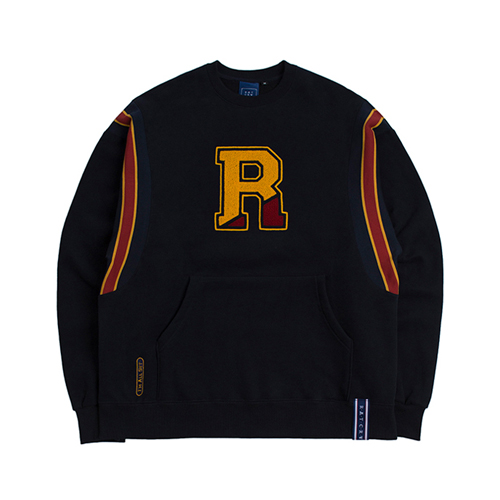 [ROMANTICCROWN] BIG LOGO SWEATSHIRT NAVY