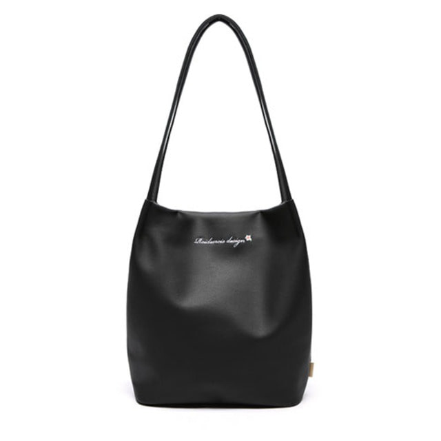 [ROIDESROIS] MUGUNGHWA SHOULDER BAG BLACK