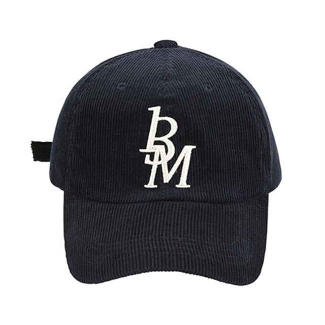 [13MONTH] CORDUROY LOGO BALL CAP NAVY