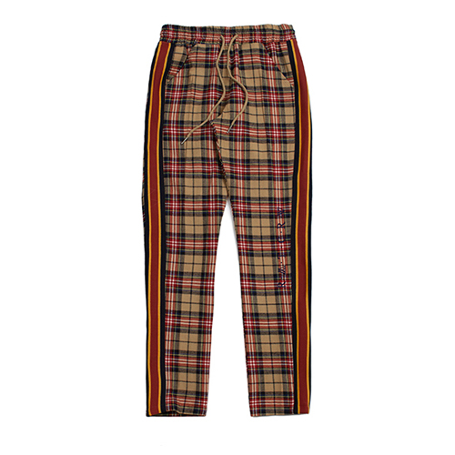 [ROMANTIC CROWN] RMTCRW CHECK PANTS BEIGE