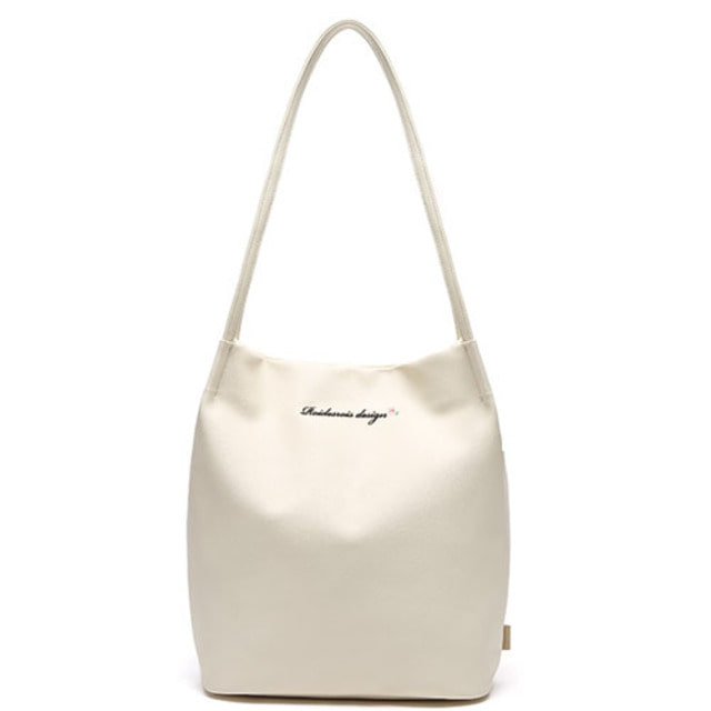 [ROIDESROIS] MUGUNGHWA SHOULDER BAG IVORY