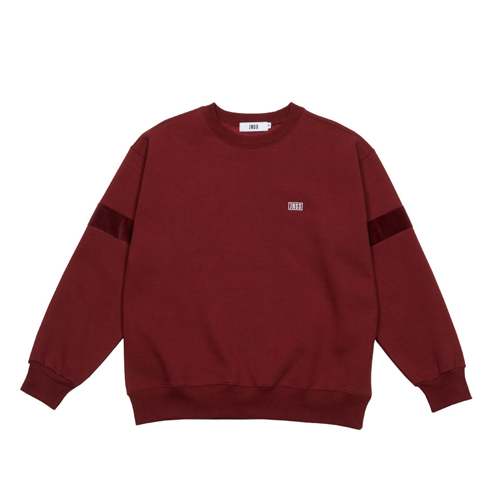[JEUNESSE] VELOUR SWEATSHIRT WINE