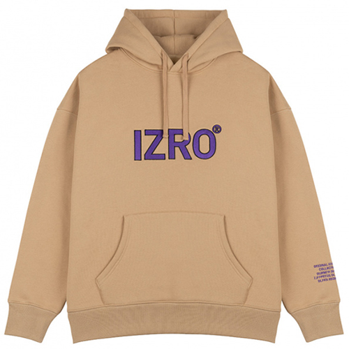 [IZRO] REFLECT HOODY BEIGE