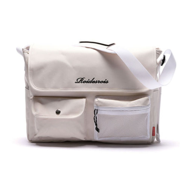 [ROIDESROIS] HUSH MESSENGER BAG IVORY