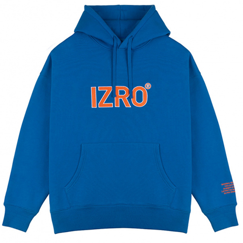 [IZRO] REFLECT HOODY BLUE