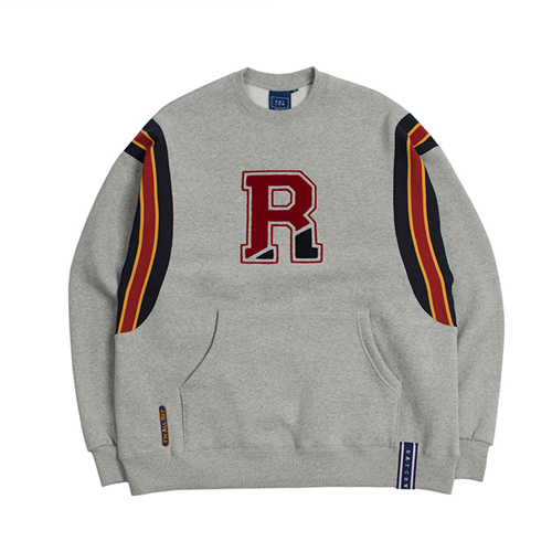 [ROMANTICCROWN] BIG LOGO SWEATSHIRT GRAY